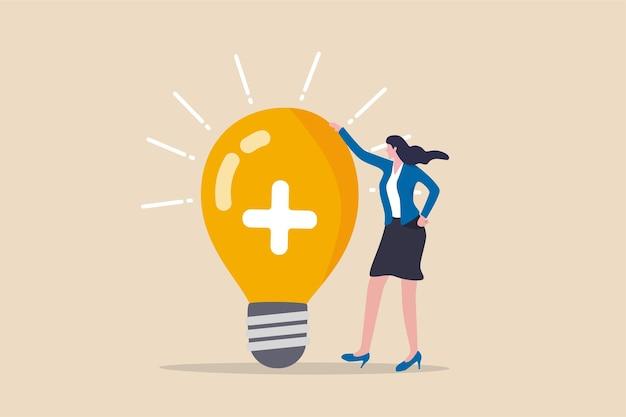 Il pensiero positivo, ottimista porta il successo al lavoro e alla vita