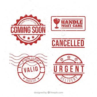 Postage stamp set