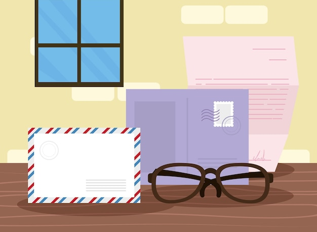 Lettere postali e buste