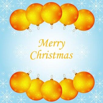 Cartolina dalle palle di elaineh per il nuovo anno.