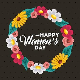 Poster giornata internazionale delle donne felici