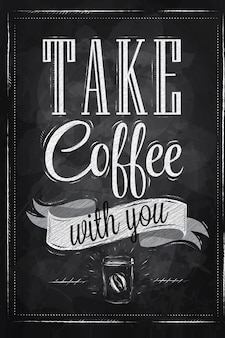 Poster prendi un caffè