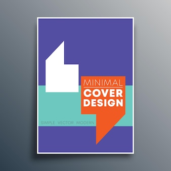 Modello di poster con design di virgole di citazione per modello di volantino, poster, copertina di brochure, tipografia o altri prodotti di stampa. illustrazione vettoriale.
