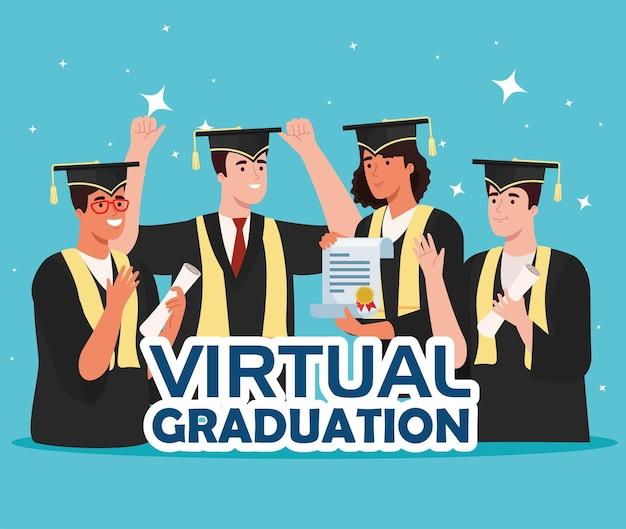 Poster di laurea virtuale