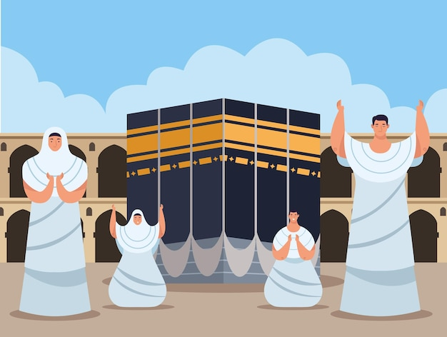 Preghiere hajj mabrur scena