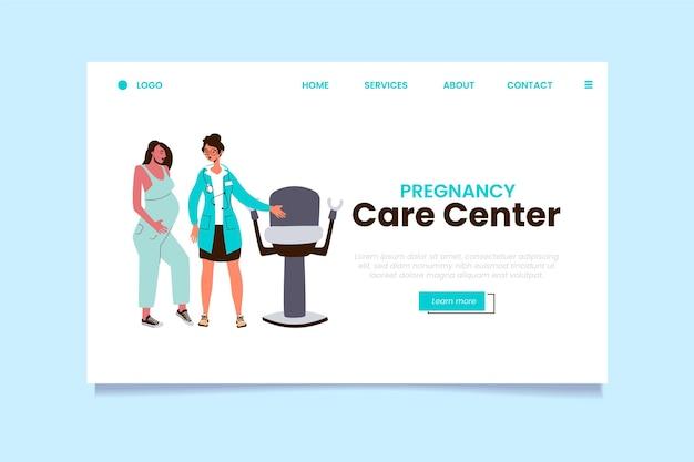 Consulto di gravidanza - pagina di destinazione