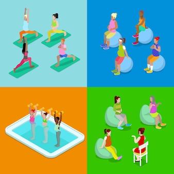 Aerobica in acqua per donne incinte