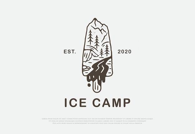 Linea premium per campi di ghiaccio