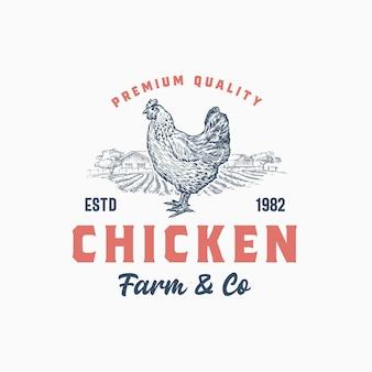 Azienda e allevamento di polli di qualità premium.