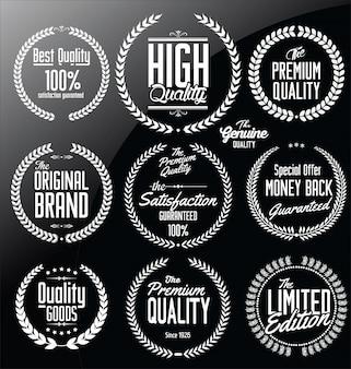 Corona di alloro di qualità premium, set