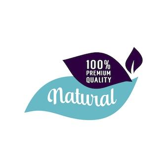 Lettering naturale di qualità premium
