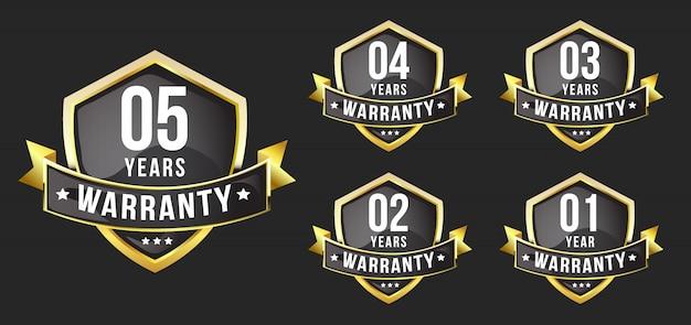 Distintivo di garanzia premium