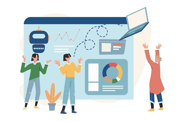 Preparare il lancio di un progetto imprenditoriale, l'ascesa della carriera verso il successo, l'analisi aziendale