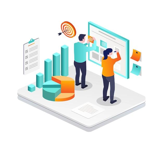 Preparare un business plan della mischia