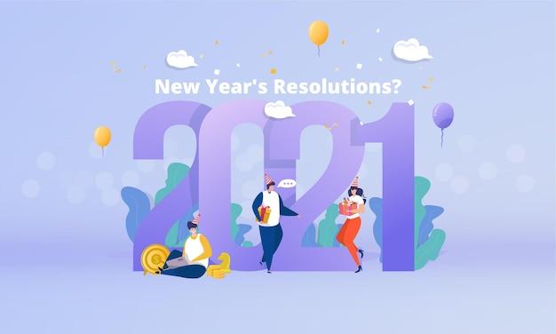Preparazione dei piani per la risoluzione del nuovo anno 2021