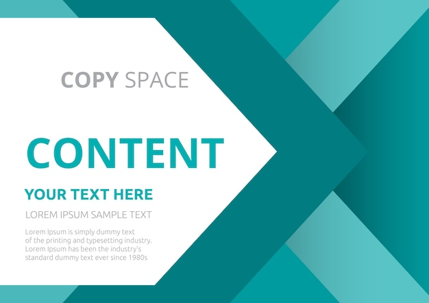 Presentazione layout template design.