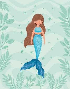 Bella sirena blu