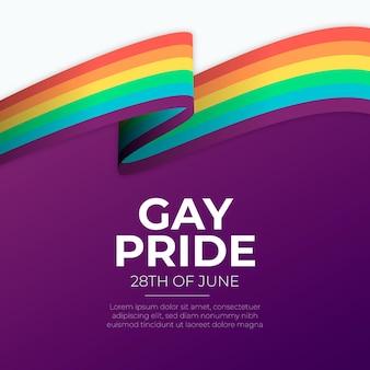 Pride day bandiera arcobaleno