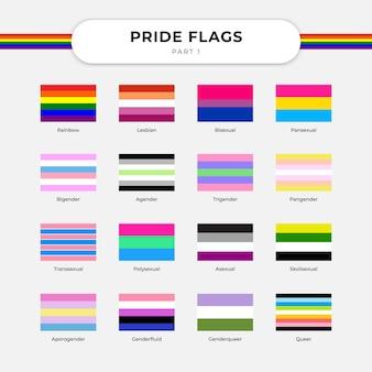 Bandiera dell'orgoglio illustrazione vettoriale gratis