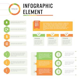 Stampa illustrazione vettoriale elemento infografica