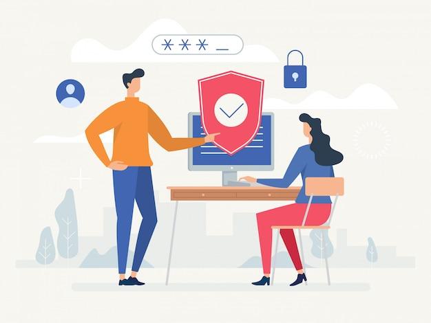 Politica sulla riservatezza. proteggi la tua privacy.