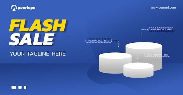 Stand prodotto per sconto vendita flash