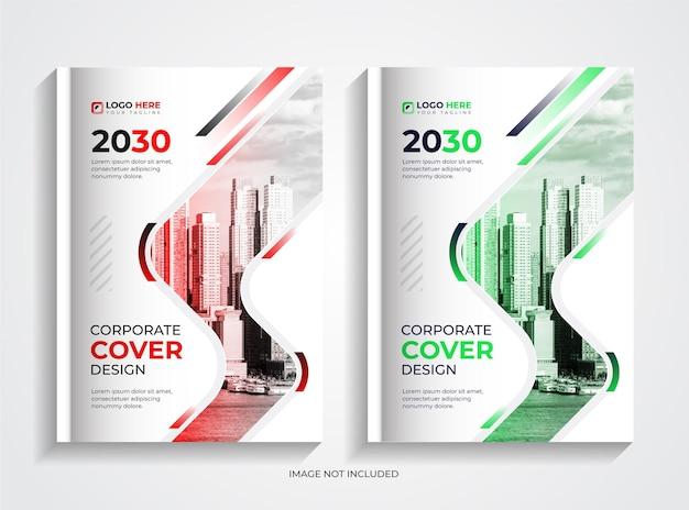 Set di design per copertine di libri aziendali professionali