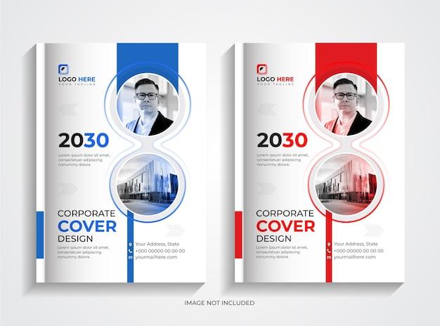 Set di modelli per copertine di libri aziendali professionali