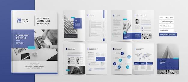 Opuscolo professionale o presentazione aziendale