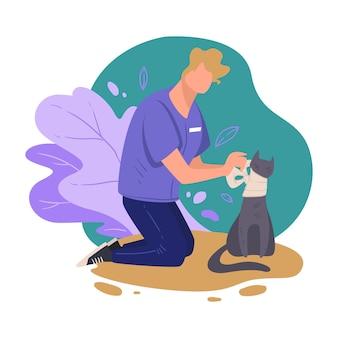 Assistenza professionale per animali presso cliniche veterinarie