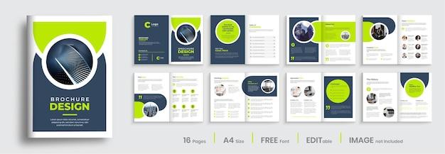 Progettazione di brochure per il profilo aziendale professionale progettazione di brochure aziendali multipagina