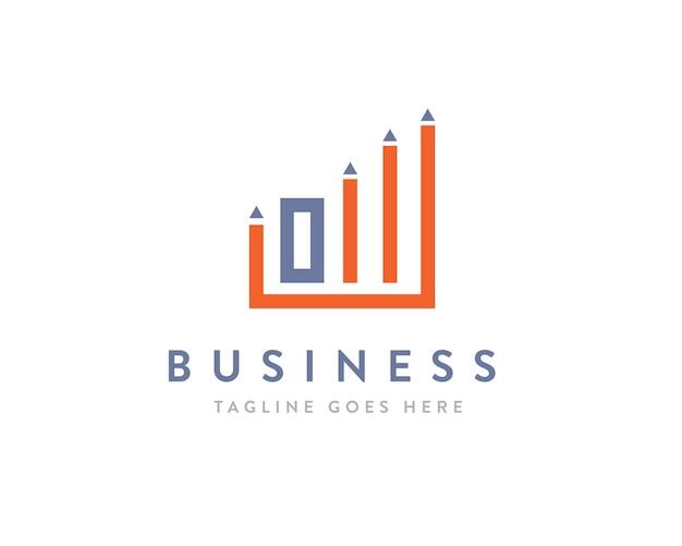 Logo aziendale professionale o logo di successo di marketing