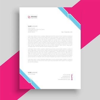 Modello di carta intestata professionale modello di carta intestata minimalista carta intestata aziendale