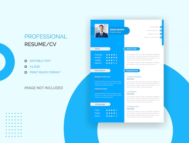 Curriculum professionale, modello di cv