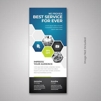 X-banner rollup professionale