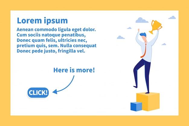 Idea redditizia per la progettazione di landing page aziendali