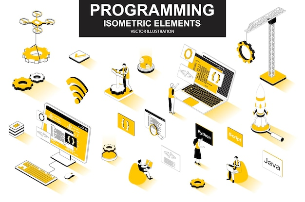Programmazione di elementi di linea isometrica 3d