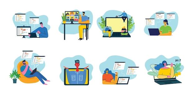Programmazione e codifica, sviluppo di siti web