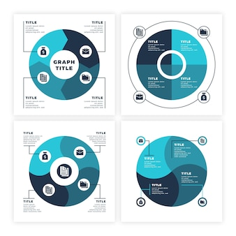 Modello di infografica del ciclo di vita del progetto