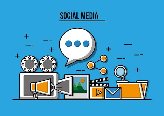 Videoproiettore videoproiettore foto marketing condividi social media