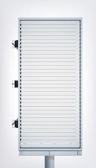 Tabellone per le affissioni verticale leggero promozionale