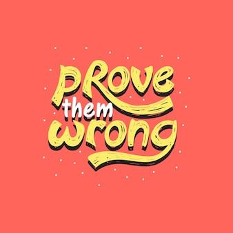 Dimostra che hanno sbagliato design tipografico unico
