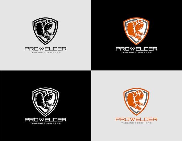 Modello di logo prowelder