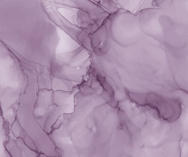 Priorità bassa dell'acquerello di inchiostro viola alcool