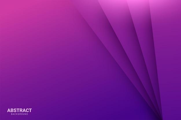 Lo sfondo viola si sovrappone allo strato viola su sfondo viola spazio scuro
