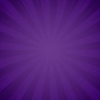 Trama di sfondo viola grunge. sunburst, effetto raggi di luce. esplosione e irradiazione di raggi viola. illustrazione
