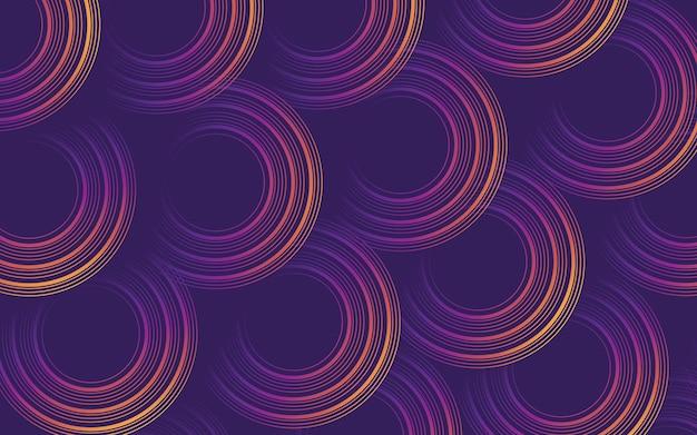 Sfondo astratto rotondo viola