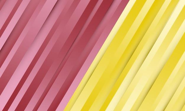 Sfondo di linea diagonale sfumata viola e gialla. nuovo design per la tua attività.