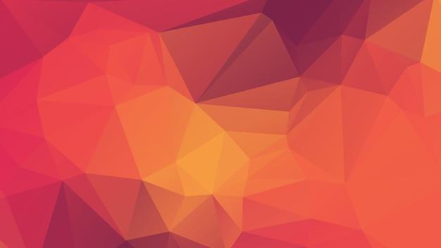 Progettazione del fondo del poligono di colore morbido viola, giallo e rosa
