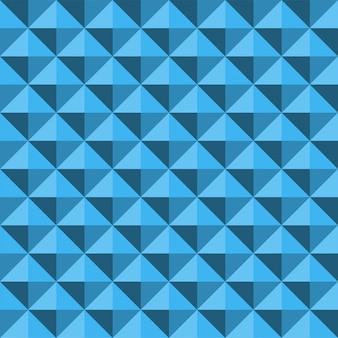 Modello blu astratto di struttura senza cuciture di rilievo della piramide